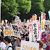 Thousands of protesters in Japan stage rally in objection to new anti-terror law
