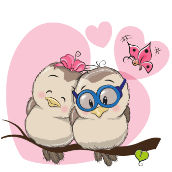 Love birds emoji