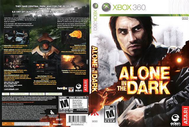 Capa xBox360 Alone in the Dark
