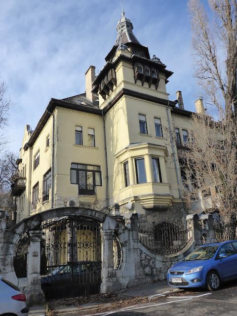 maison rue Minerva Budapest Hongrie