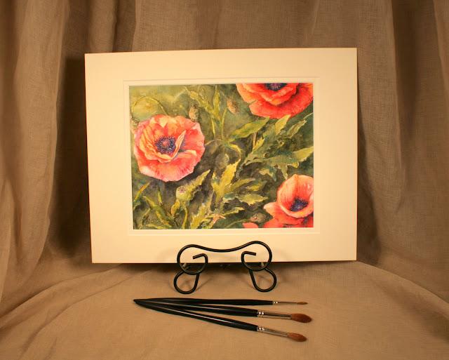 Dancing Poppies by Christy Sheeler 2016