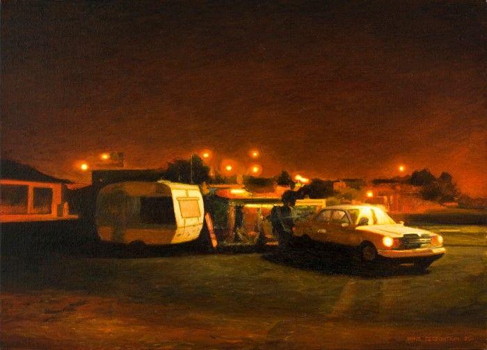 Романтическая ностальгия. Henk Serfontein