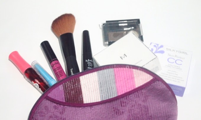 Inside My Makeup Pouch