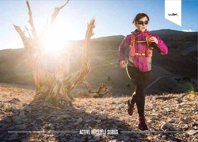 Trail running in Bishop California desert