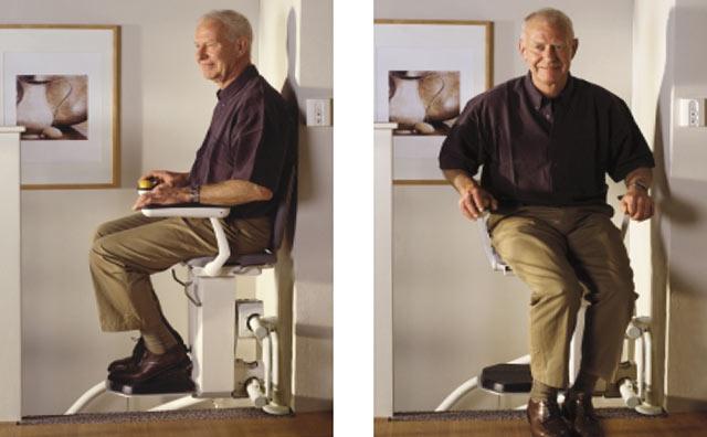 pliage siège fauteuil monte escalier