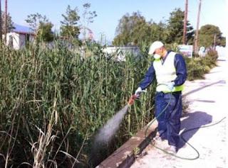 «Διενέργεια ψεκασμών για την καταπολέμηση κουνουπιών στο Δυτικό Τομέα Αθηνών της Περιφέρειας Αττικής».