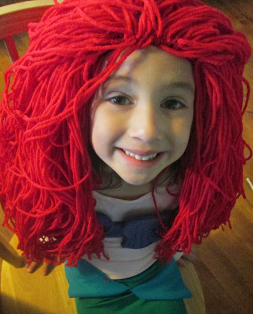 Homemade Yarn Wig 25