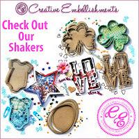 Creative Embellishments Shaker Sets