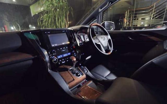 2017 Toyota Alphard Release