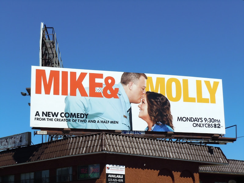 Mike and Molly season 1 billboard