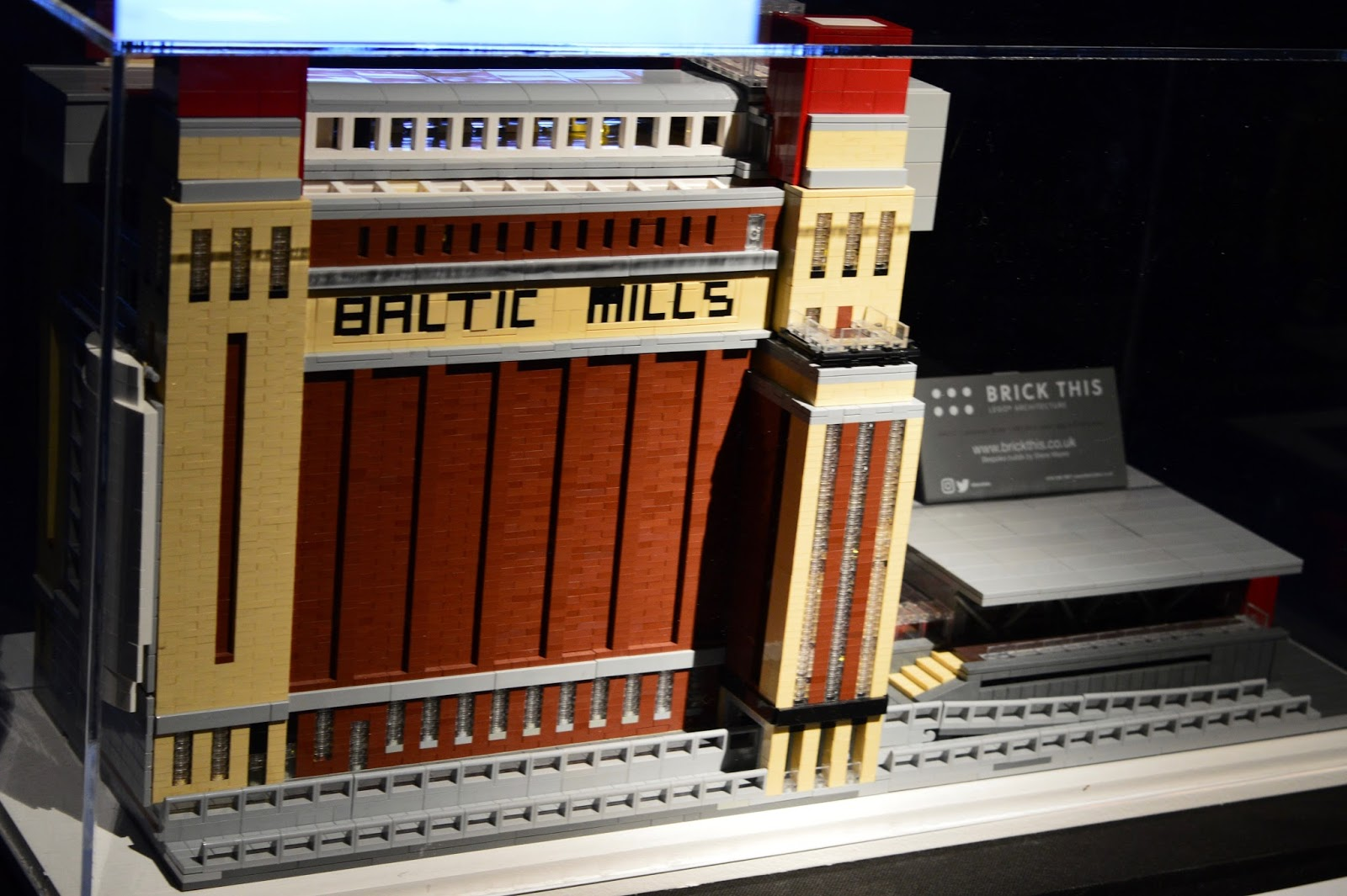 Brick History & North East Landmarks | New Lego Exhibitions at Life Science Centre, Newcastle | A Review - A Lego Baltic Mill