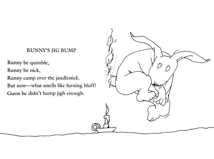 Shel Silverstein Poems About Love: Lands Of Pleasure: Runny Babbit: A Billy Sook By Shel