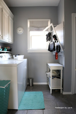 Homespun by Laura: One Room Challenge Fall 2016 Laundry Room Reveal