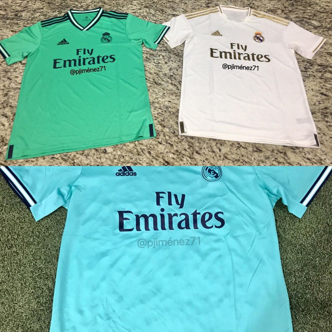 huge selection of f2580 cd72b Real Madrid 19-20 Home, Away & Third Kits Leaked - Release ...