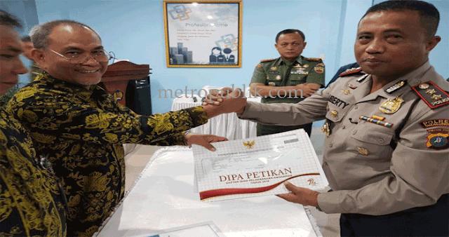 Polres Simalungun Mendapat Peringkat 1 Dalam Satker DIPA Wilayah Simalungun