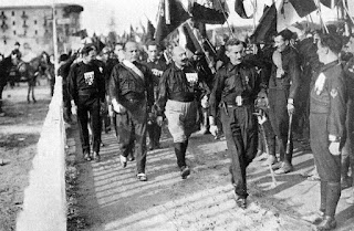 Mussolini joined the March on Rome, although by then his objective of taking power had been achieved