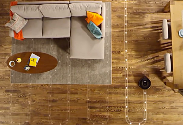 Roomba 960 Vacuum Cleaner, Runs for up to 75 minutes, then automatically recharges and resumes cleaning to complete the entire job