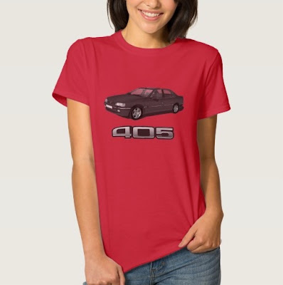 peugeot 405 t-paita shirt