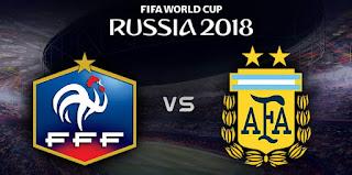 مشاهدة مباراة الارجنتين وفرنسا بث مباشر اليوم يوتيوب يلا شوت رابط الاسطورة لايف اون لاين بدون تقطيع - كأس العالم روسيا 2018
