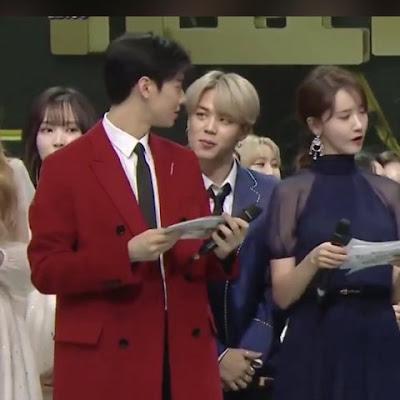[PANN] Sunuculuk kağıtlarını Jimin'e gösteren Cha Eunwoo