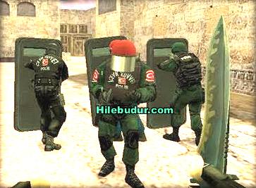 Counter Strike 1.6 Türk Çevik Kuvvet Polis Skini İndir Süper Pack 2017