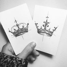 Beautiful Crown Tattoos