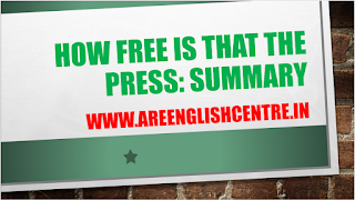 How free is that the Press Summary