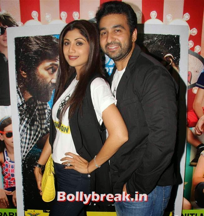 Shilpa Shetty and Raj Kundra, Shilpa Shetty, Bipasha Basu at Dishkiyaoon Premiere