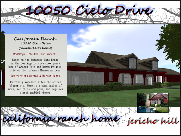 Outside the Box: 10050 Cielo Drive (New Offering)