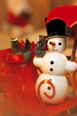 Christmas Snowman iPhone Background Wallpaper