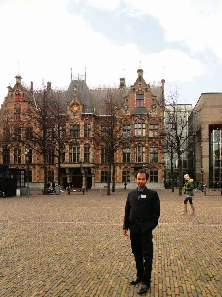 In Front of Dutch Parliament, Netherlnds