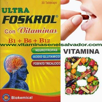Vitaminas En El Salvador Comprar ahora!