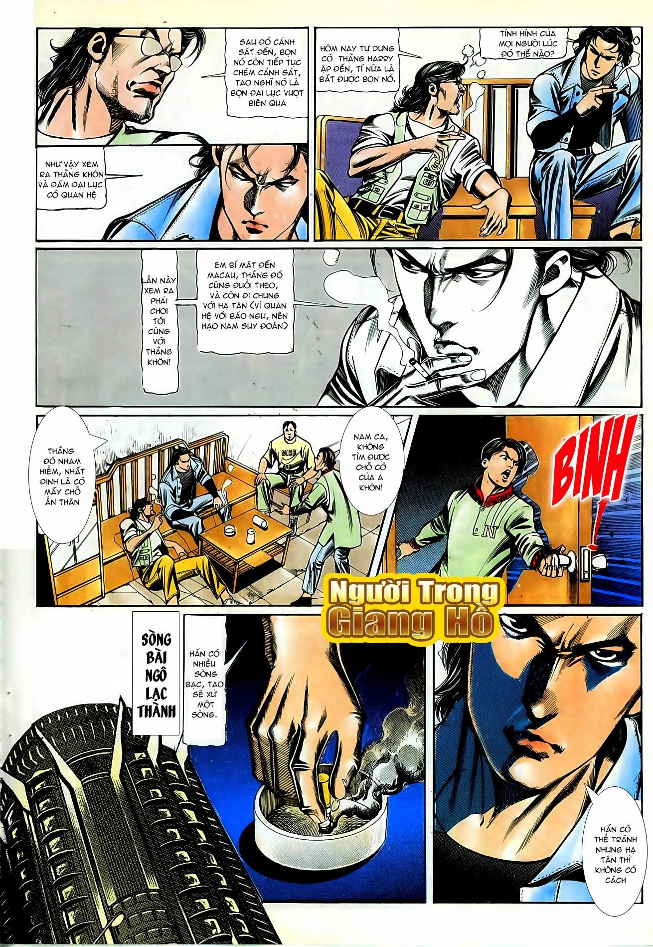 Người Trong Giang Hồ chapter 87: chống lưng của a khôn trang 4