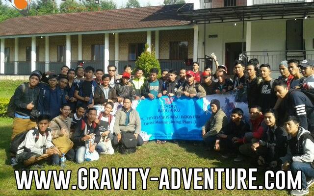 paket outbound di pangalengan bandung gravity adventure