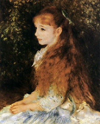 information about mademoiselle ire ne cahen Mlle irene cahen d'anvers was one of the most impressionistic portraits of renoir, which was a sideway portrait made for a famous banker's daughter 8-year-old daughter irene the little irene had a head of golden brown and fluffy hair which hung in her chest and waist.
