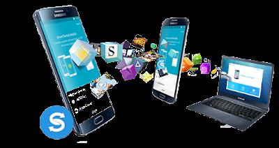ه تطبيق Smart Switch Mobile  الذي يقوم بنقل الملفات بين الهواتف بسهوله بطريقة التحويل الذكي وبشكل سريع