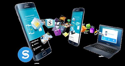 تطبيق لنقل البيانات من هاتف قديم الى  أخر بطريقة التحويل الذكي