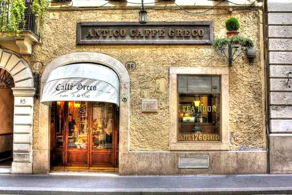 3 days in Rome - Antico Caffe Greco