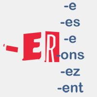 terminaisons des verbes en -ER au présent de l'indicatif