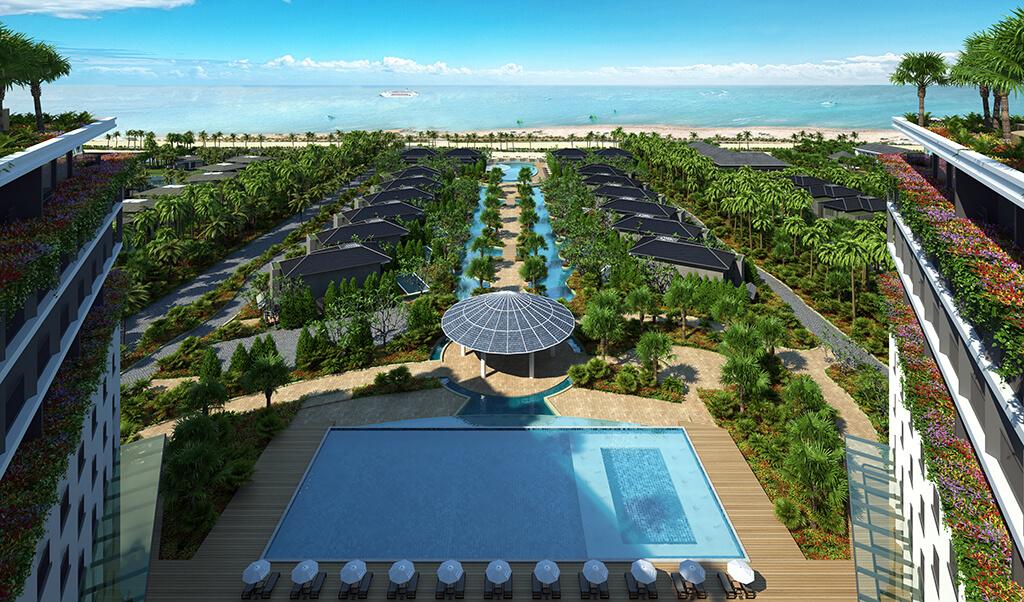 Góc view biển từ Sonasea Condotel Phú Quốc