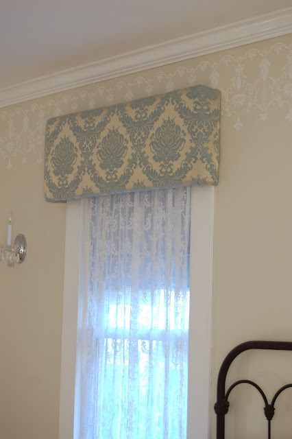 Love And Life At Leadora Bedroom Cornice Boxes