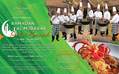 lokasi Buffet Ramadhan 2016 Malaysia