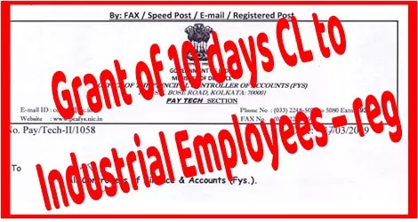 grant-10-days-cl-to-industrial-employees