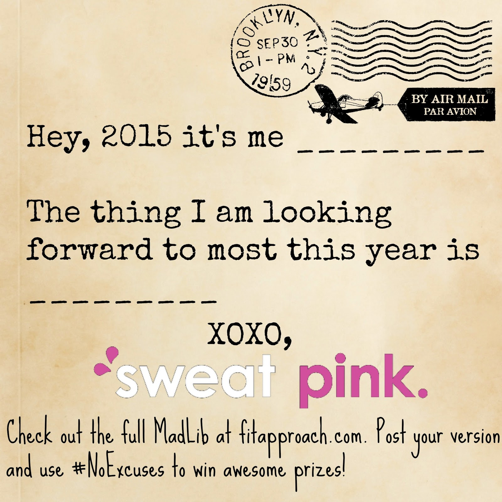 Sweat Pink No Excuses Polished Lifting