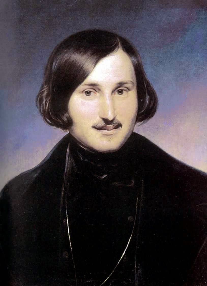 Portait of Nikolai Vasilievich Gogol, Ukrainian-born Russian dramatist, novelist and short story writer