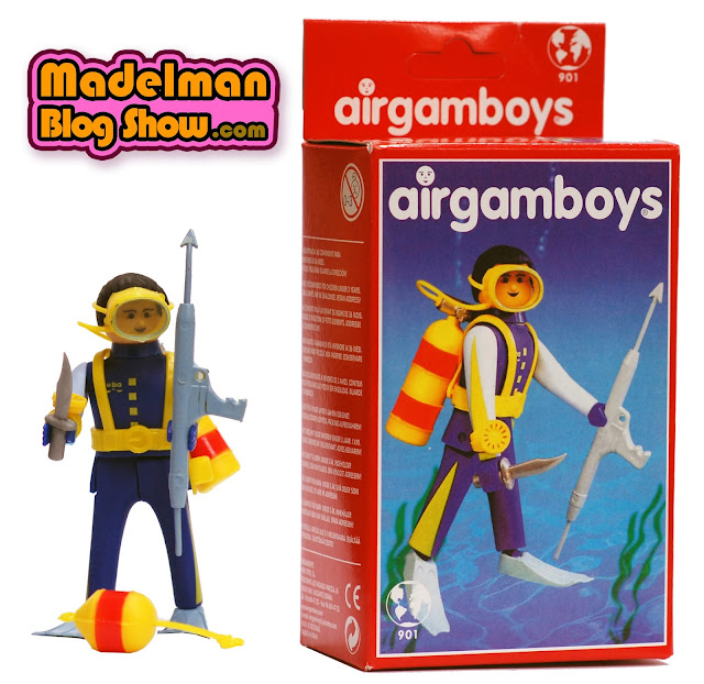 Airgamboy Submarinista (Saica toys - 2003)