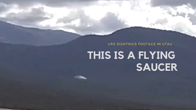 This is looking more and more like a Flying Saucer everytime I look at this UFO video from Utah.