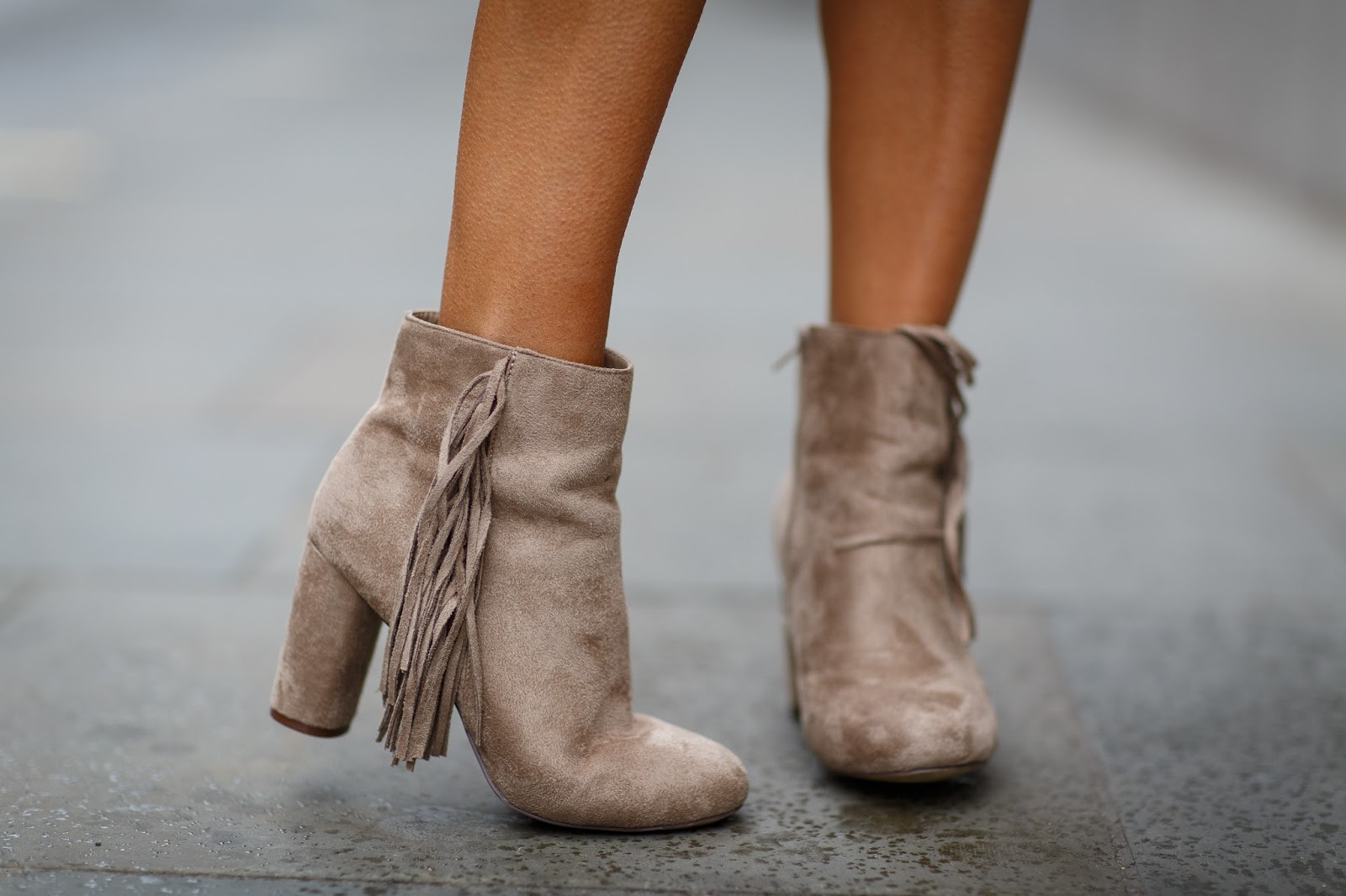 missguided tassel boots