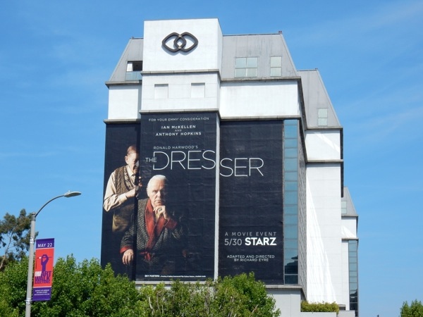Dresser giant film billboard