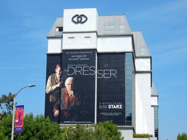 Dresser giant film billboard